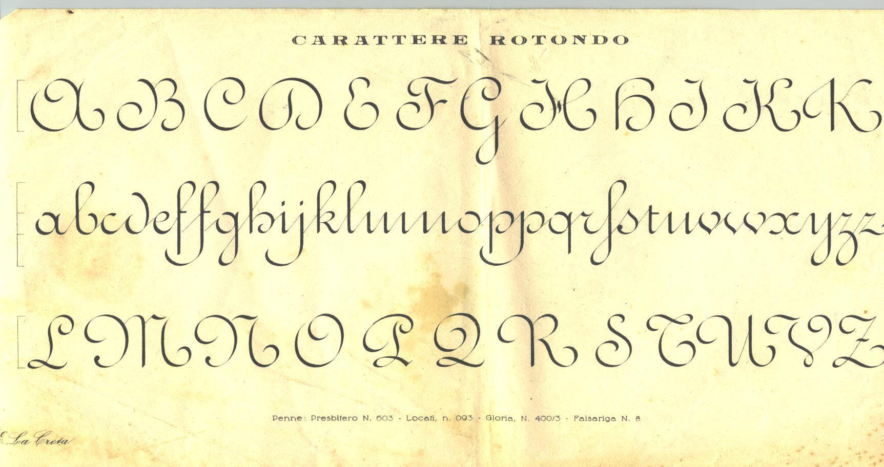Très Calligrafia MB84